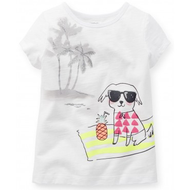 Camiseta Infantil Carters Beach